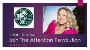 Neen James - Attention Pays with Neen James. Attention Pays Book,