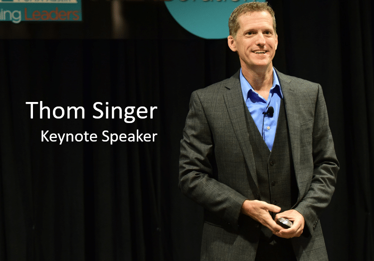 Keynote Speaker - Thom Singer. Motivational Speaker. Master of Ceremonies
