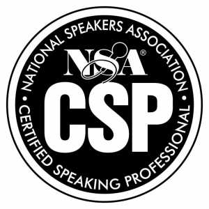 Certified Speaking Professional - Thom Singer. What is the CSP? National Speakers Association - Certified Speaking Professional