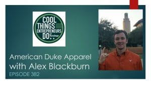 Alex Blackburn American Duke Apparel