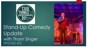 Stand up comedy Thom Singer