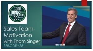 Sales Team Motivation - Thom Singer - Motivate your sales team