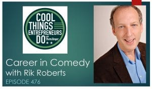 rik roberts - career in comedy
