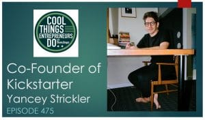 Yancey Strickler - Co Founder of Kickstarter