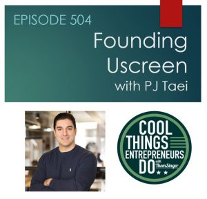 PJ Taei - founder of Uscreen